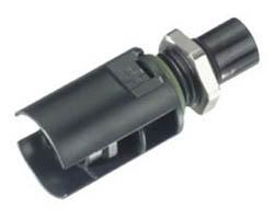 Male panel receptacle SOLARLOK Tyco 4 mm² 1394738-3 Plus