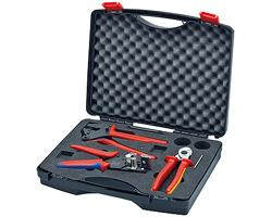 Multi-brand crimping set Knipex 97 91 01